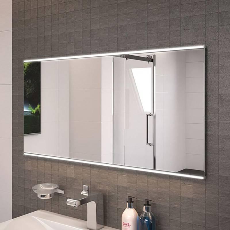 Large Illuminated Bathroom Mirrors For Large Illuminated Mirrors (#19 of 30)