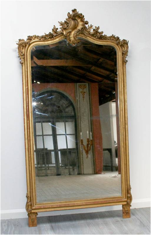 Large Louis 15Th Style Gilt Mirror | Haunt – Antiques For The Pertaining To Large Gilt Mirrors (#19 of 20)