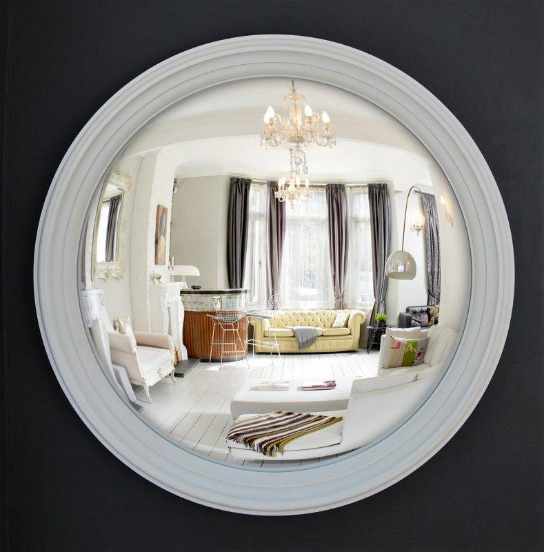 Large Lucca Convex Mirror | Omelo Decorative Convex Mirrors Omelo Intended For Convex Decorative Mirrors (View 4 of 30)