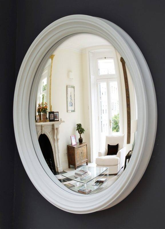 Large Lucca Convex Mirror   Omelo Decorative Convex Mirrors Omelo Within Decorative Convex Mirrors (#15 of 20)