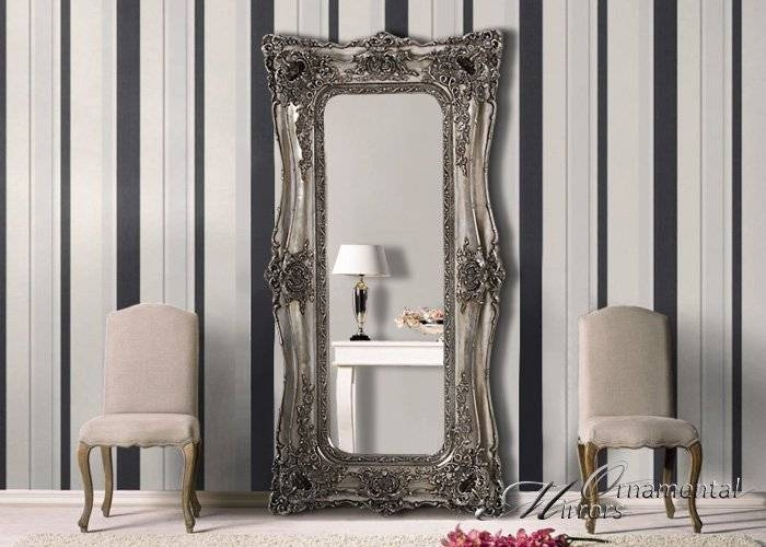 Large Mirrors, Leaner Mirrors And Floor Standing Mirrors Intended For Full Length Large Free Standing Mirrors (View 17 of 20)