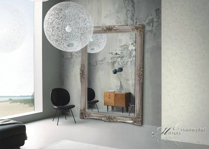 Large Mirrors, Leaner Mirrors And Floor Standing Mirrors With Full Length Ornate Mirrors (#16 of 30)