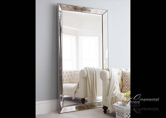 20 Best Ideas of Silver Floor Standing Mirrors