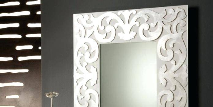 Large Modern Mirror – Shopwiz In Large Contemporary Mirrors (#20 of 30)