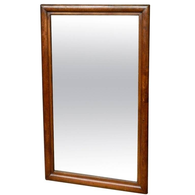 Large Oak Framed Mirror At 1Stdibs Intended For Large Oak Mirrors (View 4 of 20)