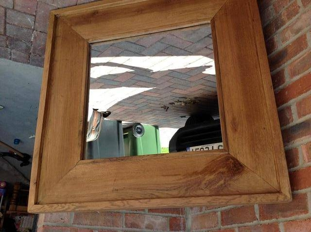 Large Oak Mirror – Second Hand Household Furniture, Buy And Sell For Large Oak Mirrors (View 7 of 20)