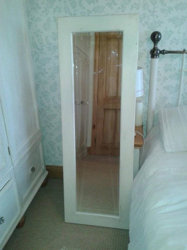 Large Old Mirrors – Second Hand Household Furniture, Buy And Sell Intended For Shabby Chic Long Mirrors (#20 of 30)