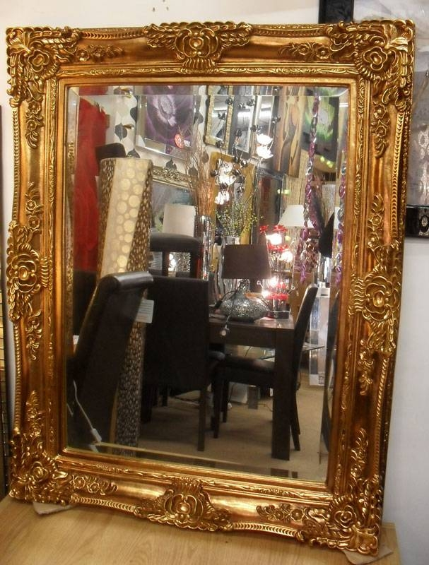 Large Ornamental Mirrors | Pilotschoolbanyuwangi In Large Old Mirrors (View 24 of 30)