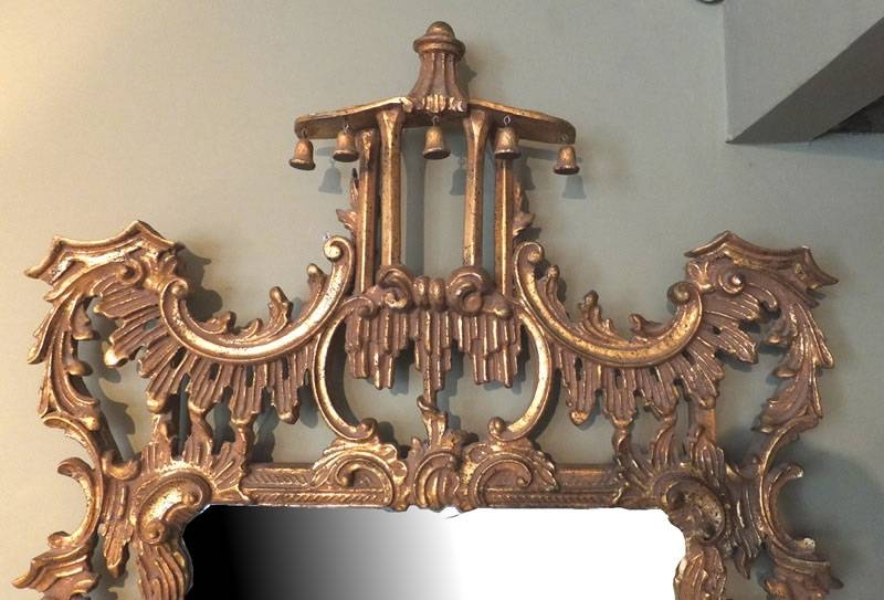 Large Ornate Gilt Mirror | Antique Mirrors Pertaining To Ornate Antique Mirrors (#15 of 15)