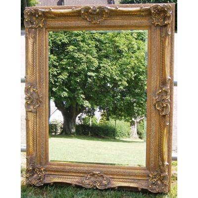 Large Ornate Gold 5Ft Rococo Mirror – Ayers & Graces Online Throughout Large Rococo Mirrors (#22 of 30)