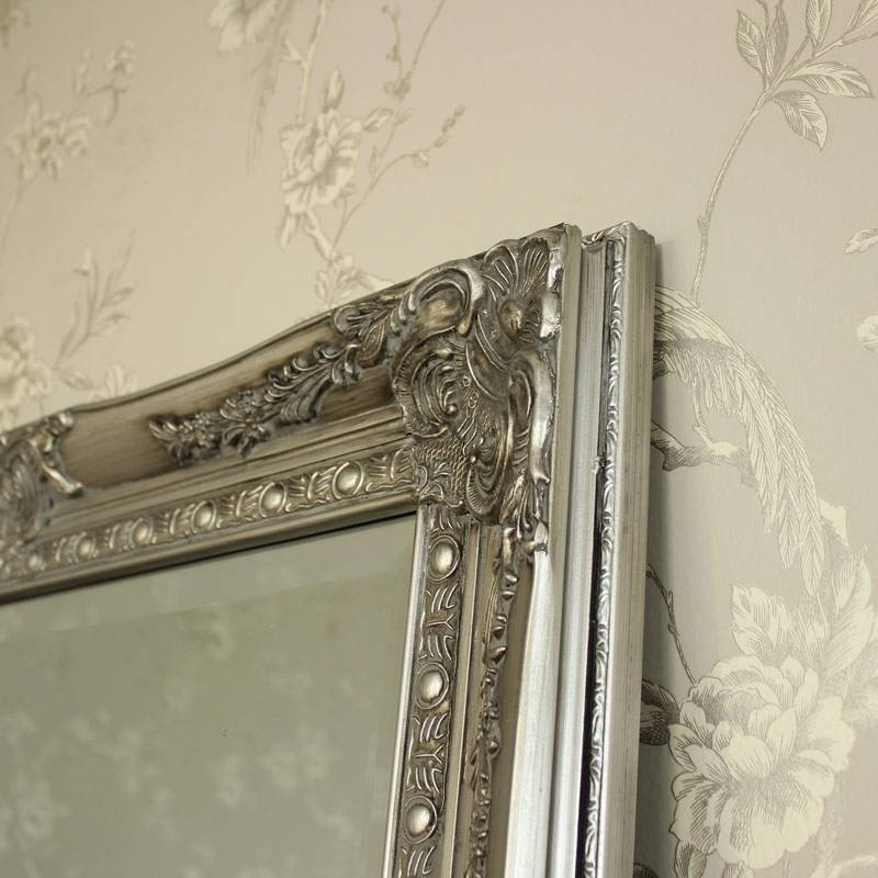30 collection of ornate floor mirrors for Floor wall mirror