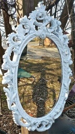 Large Oval Wall Mirror – Foter For Shabby Chic Large Wall Mirrors (#16 of 20)
