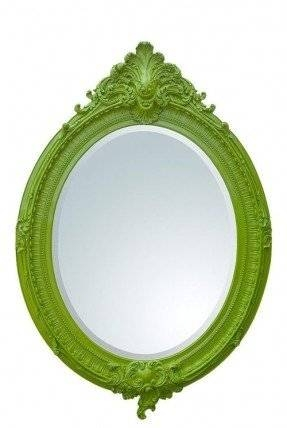 Large Oval Wall Mirror – Foter Within Large Oval Wall Mirrors (#20 of 30)