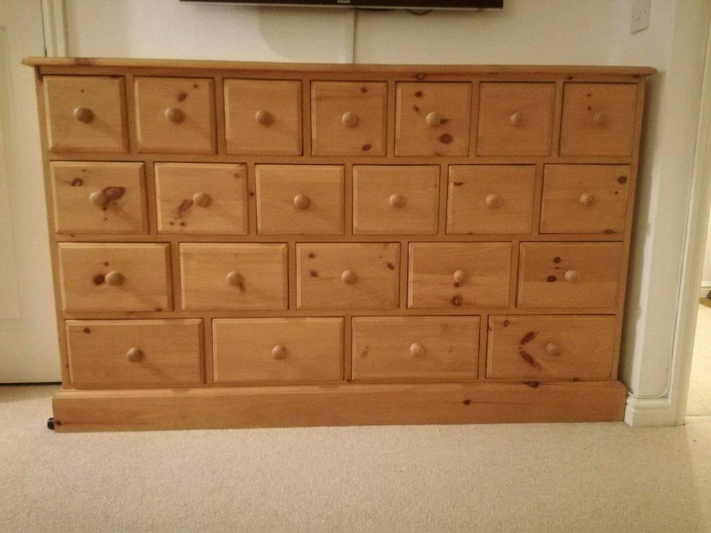 Large Pine Multi Drawer Sideboard | In Framlingham, Suffolk | Gumtree In Multi Drawer Sideboard (#14 of 20)