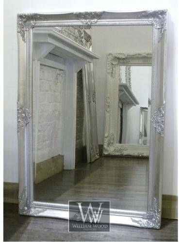 Large Rectangular Mirror For Walls – Shopwiz With Shabby Chic Wall Mirrors (View 22 of 30)