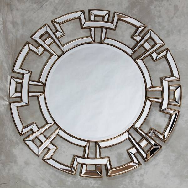 Large Round Contemporary Mirrors | Best Home Magazine Gallery With Regard To Designer Round Mirrors (#15 of 20)