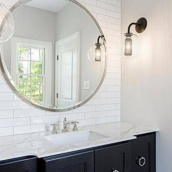 30 Best Collection Of Large Round Black Mirrors