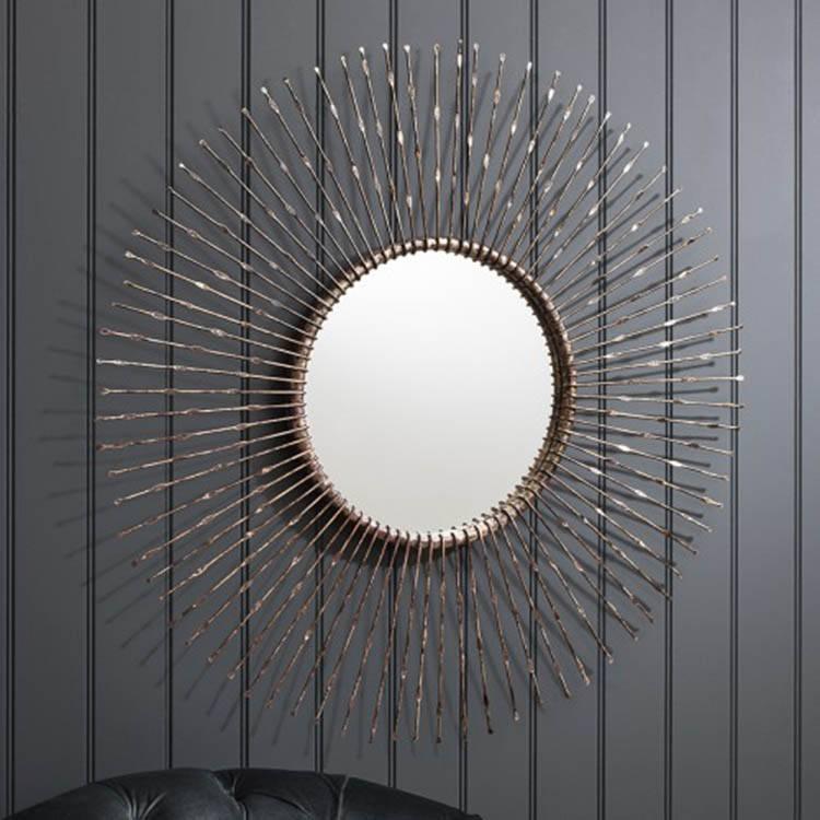 Large Round Mirror. Brownstone Townsend Large Round Mirror (#24 of 30)