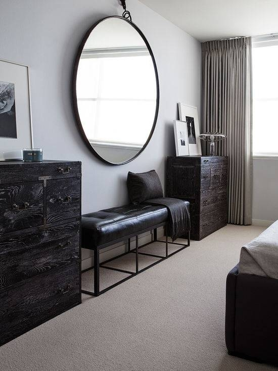 Large Round Mirror | Houzz Throughout Large Round Mirrors (#15 of 20)