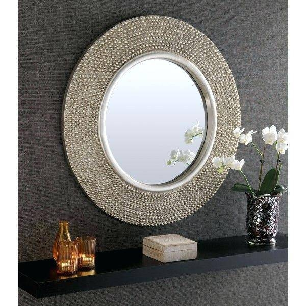 Large Round Mirror – Shopwiz Within Large Round Mirrors (#16 of 20)