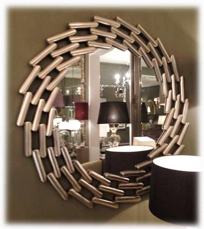 30 Photo Of Round Antique Mirrors