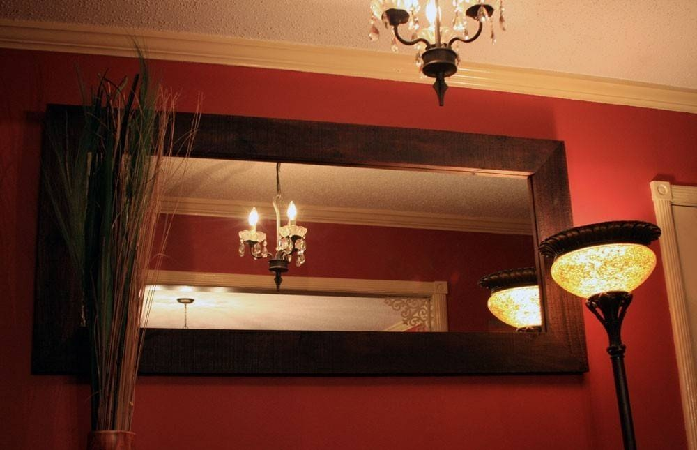 Popular Photo of Large Brown Mirrors