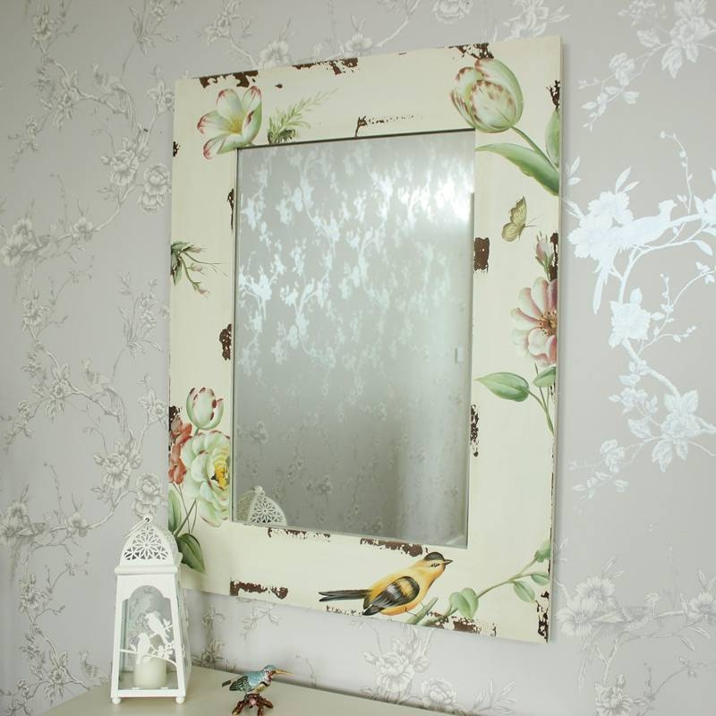 Large, Small, Floor, Vanity & Dressing Table Mirrors | Melody Pertaining To Cream Wall Mirrors (View 17 of 20)
