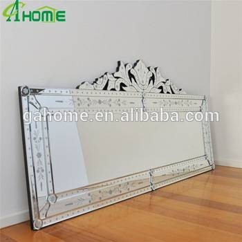 Large Venetian Etched Wall Mirror For Home Decorative – Buy Intended For Large Venetian Wall Mirrors (#12 of 20)