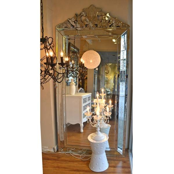 Popular Photo of Venetian Floor Mirrors