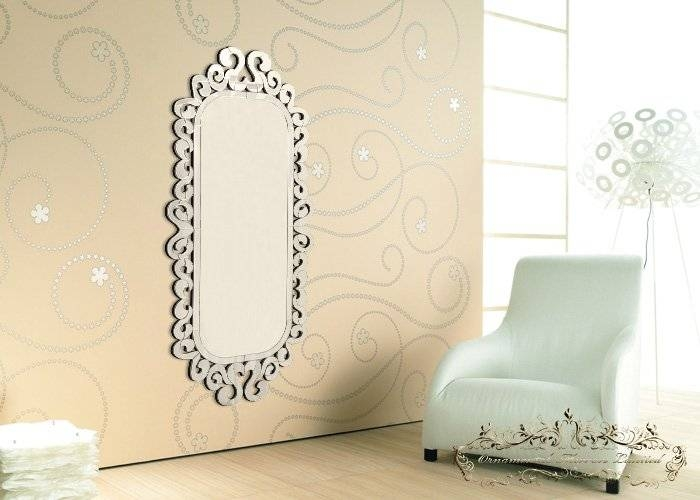 Large Venetian Wall Mirror Pertaining To Large Venetian Wall Mirrors (#13 of 20)