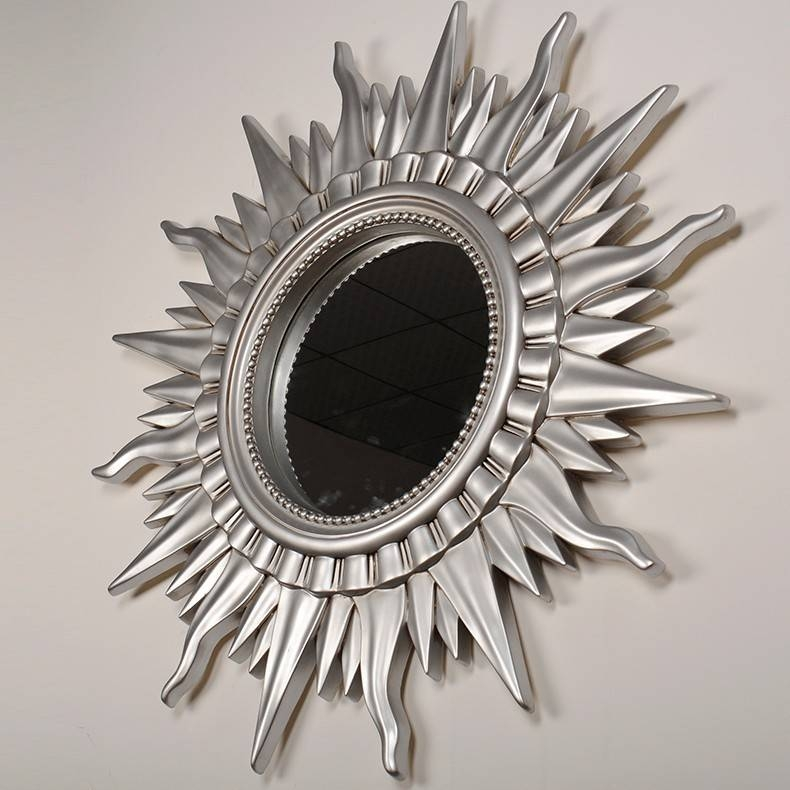 Large Wall Mirror,art Decor,mirror Shape Of The Sun|Alibaba With Large Sun Shaped Mirrors (#19 of 20)