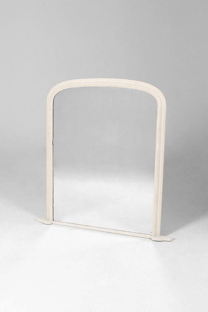 Inspiration about Large White Over Mantle Mirror With White Overmantle Mirrors (#25 of 30)