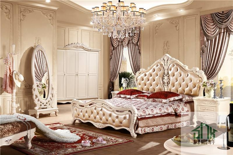 Latest French Style Ha B# Bedroom Furniture Wooden&glass Full For Cheap French Style Mirrors (View 9 of 30)