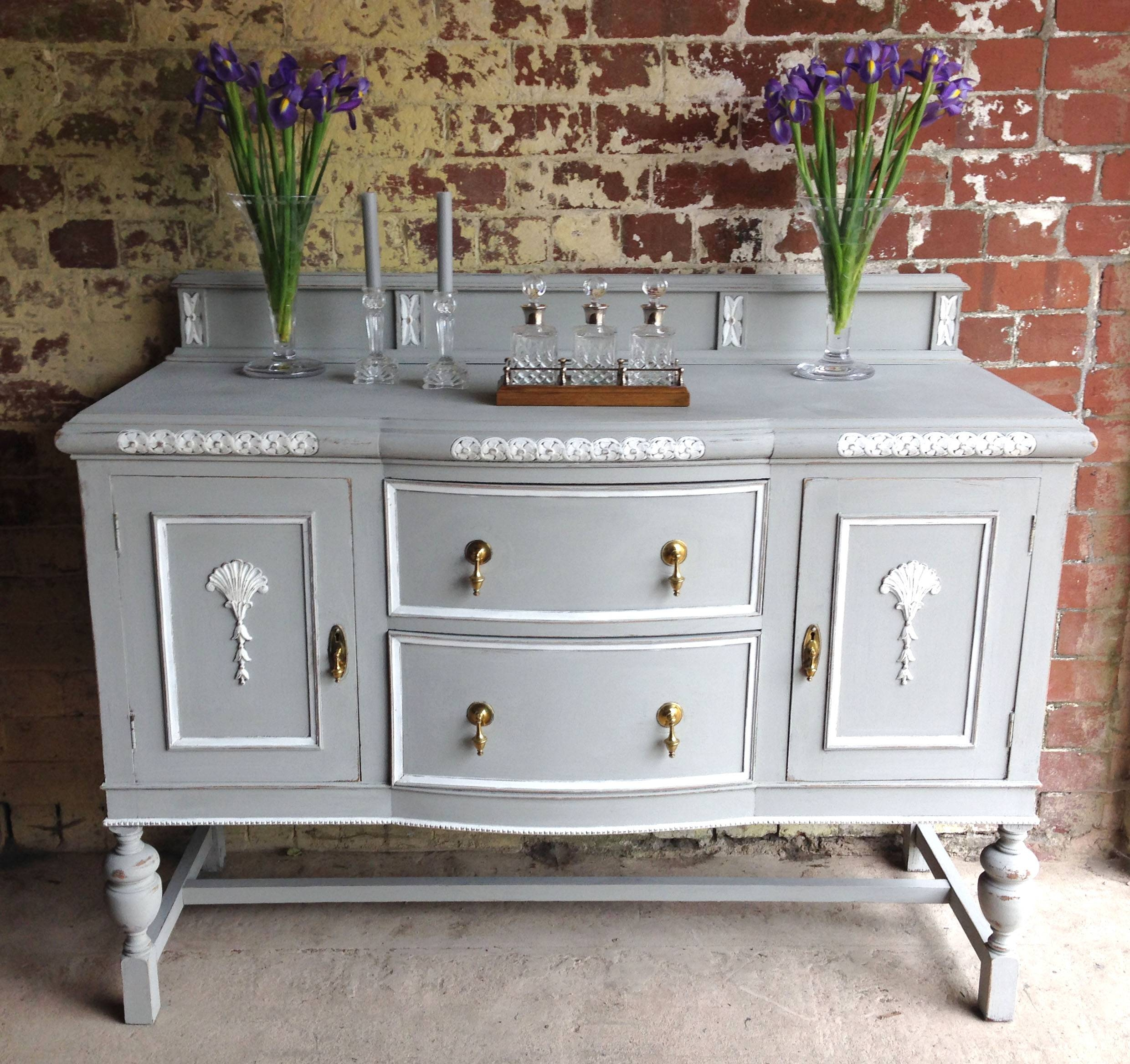 Latest Painting Project – French Style Sideboard (View 13 of 20)
