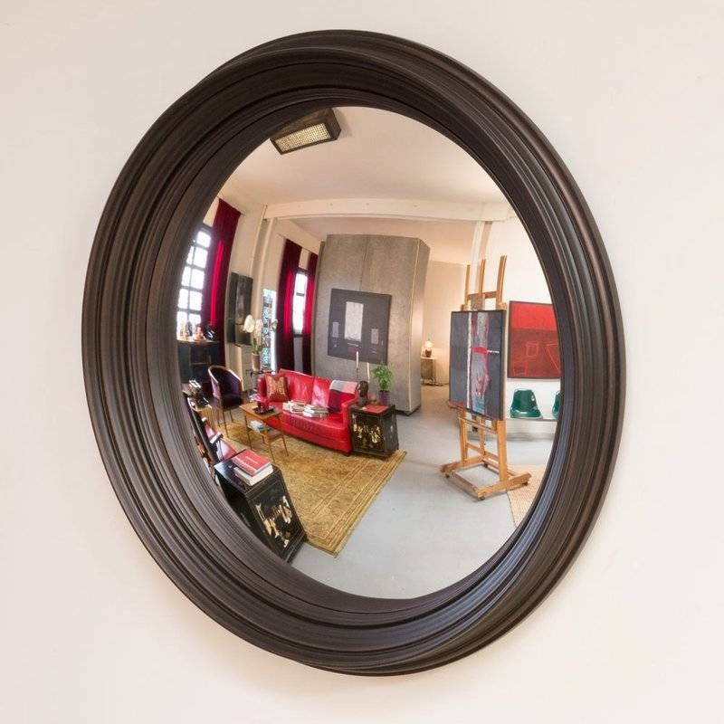 "Latitude Run Bizari 40"" Decorative Convex Wall Mirror & Reviews With Regard To Convex Wall Mirrors (#19 of 30)"