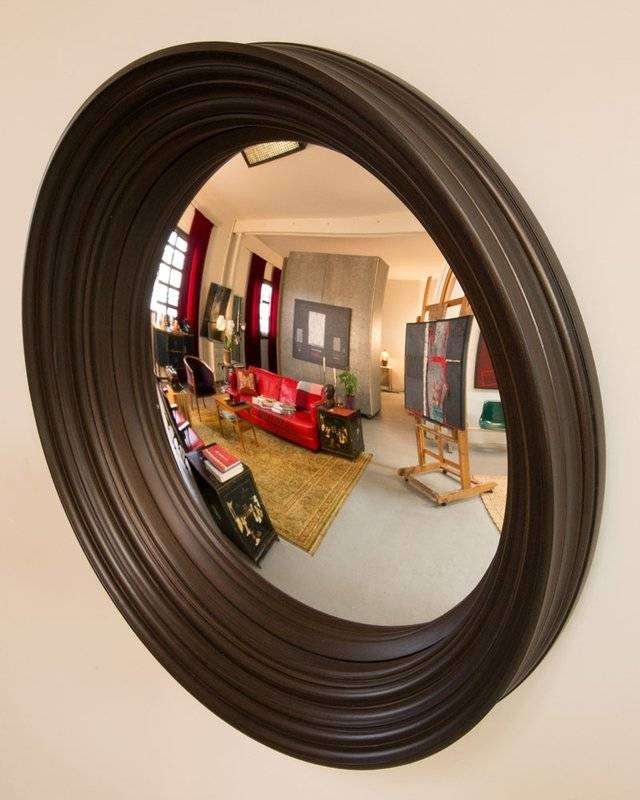 "Latitude Run Dorian 24"" Decorative Convex Wall Mirror & Reviews Intended For Convex Wall Mirrors (#21 of 30)"