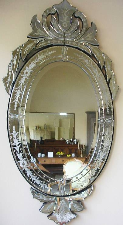Le Côté Français – Catalogue : Mirrors Regarding Venetian Oval Mirrors (View 10 of 15)