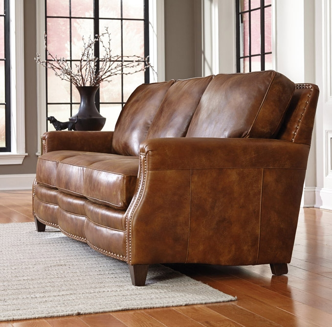 Learn About Leather With Hudsons Furnitures Leather Buying Guide Pertaining To Full Grain Leather Sofas (View 15 of 15)