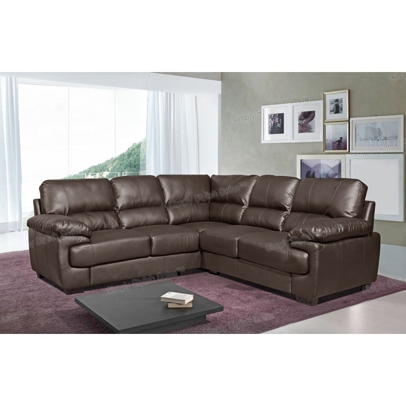 Leather Corner Sofa Buying Guide Elegant Furniture Design With Small Brown Leather Corner Sofas (#8 of 15)