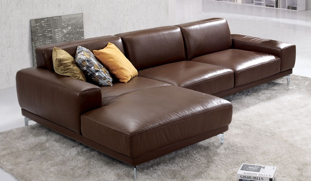 Leather Corner Sofa Leather Corner Sofa Bed Argos Athens With Small Brown Leather Corner Sofas (#9 of 15)
