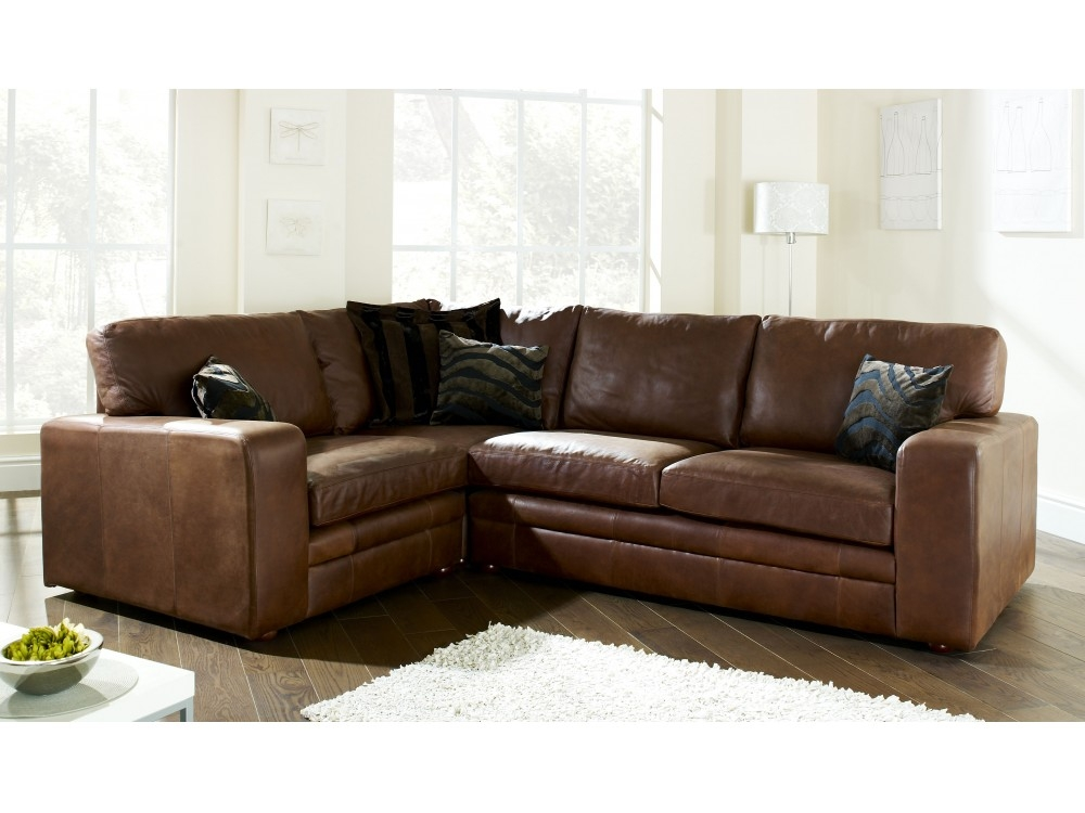 Small Brown Leather Corner Sofa The 25 Best Brown Corner