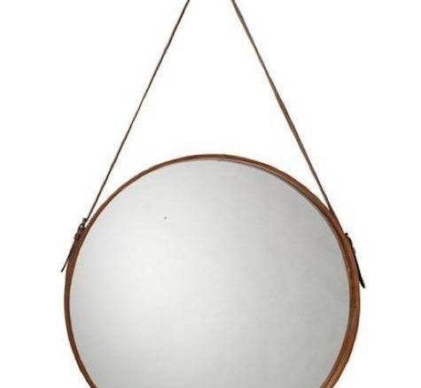 Leather Mirrors With Leather Mirrors (#10 of 20)