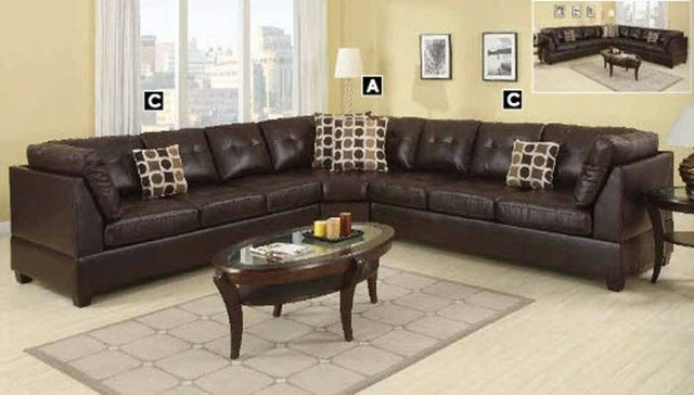 Leather Modular Sectional Sofa Leather Sectional Sofa In Leather Modular Sectional Sofas (#9 of 15)