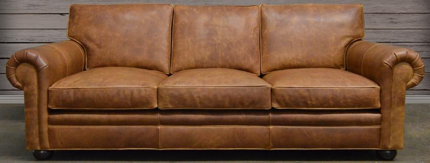 Popular Photo of Full Grain Leather Sofas