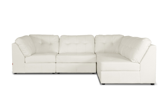Leather Sofas And Sectionals Within Leather Modular Sectional Sofas (#10 of 15)