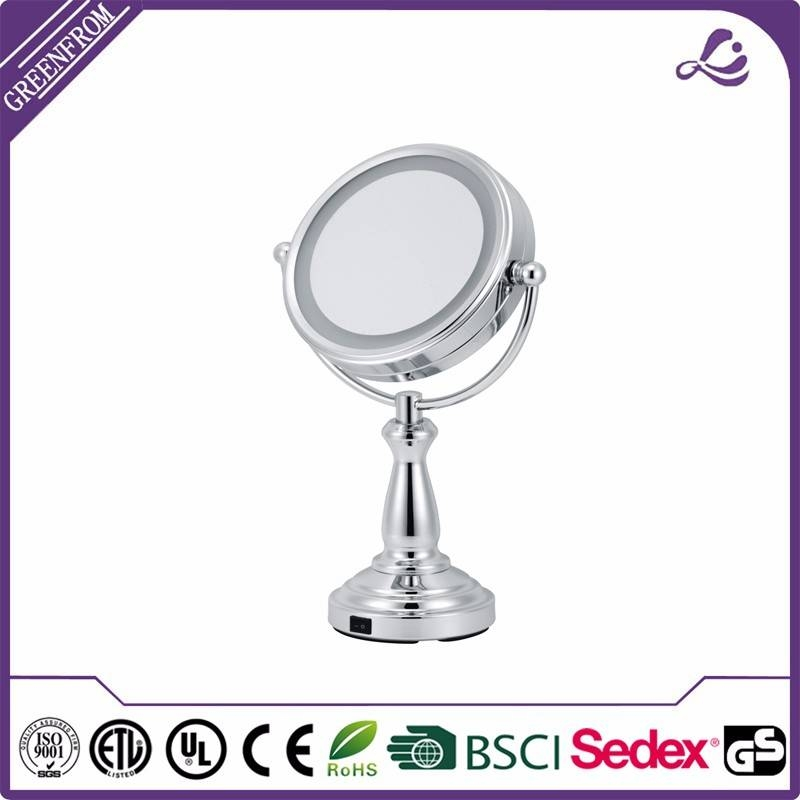 Led Lighting Modern Dressing Table Mirrors / Round Led Desktop In Standing Table Mirrors (#19 of 30)