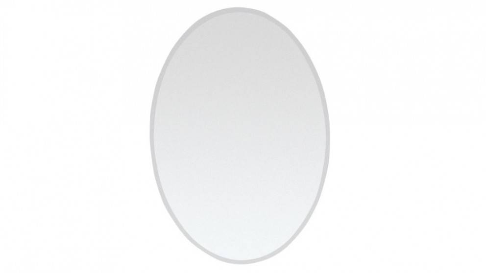 Ledin Bevelled 500X700 Oval Mirror – Bathroom Mirrors – Bathroom Regarding Bevelled Oval Mirrors (#13 of 20)
