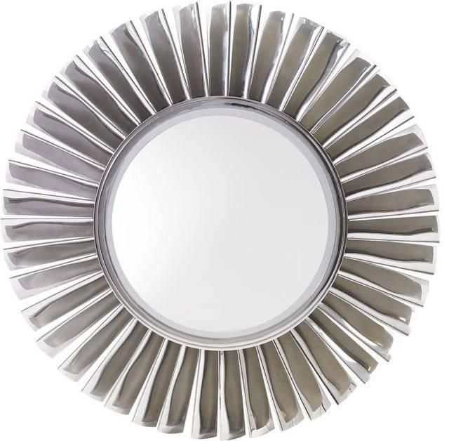 Lexington Mirage Fontaine Round Mirror – Contemporary – Wall Throughout Contemporary Round Mirrors (View 2 of 20)