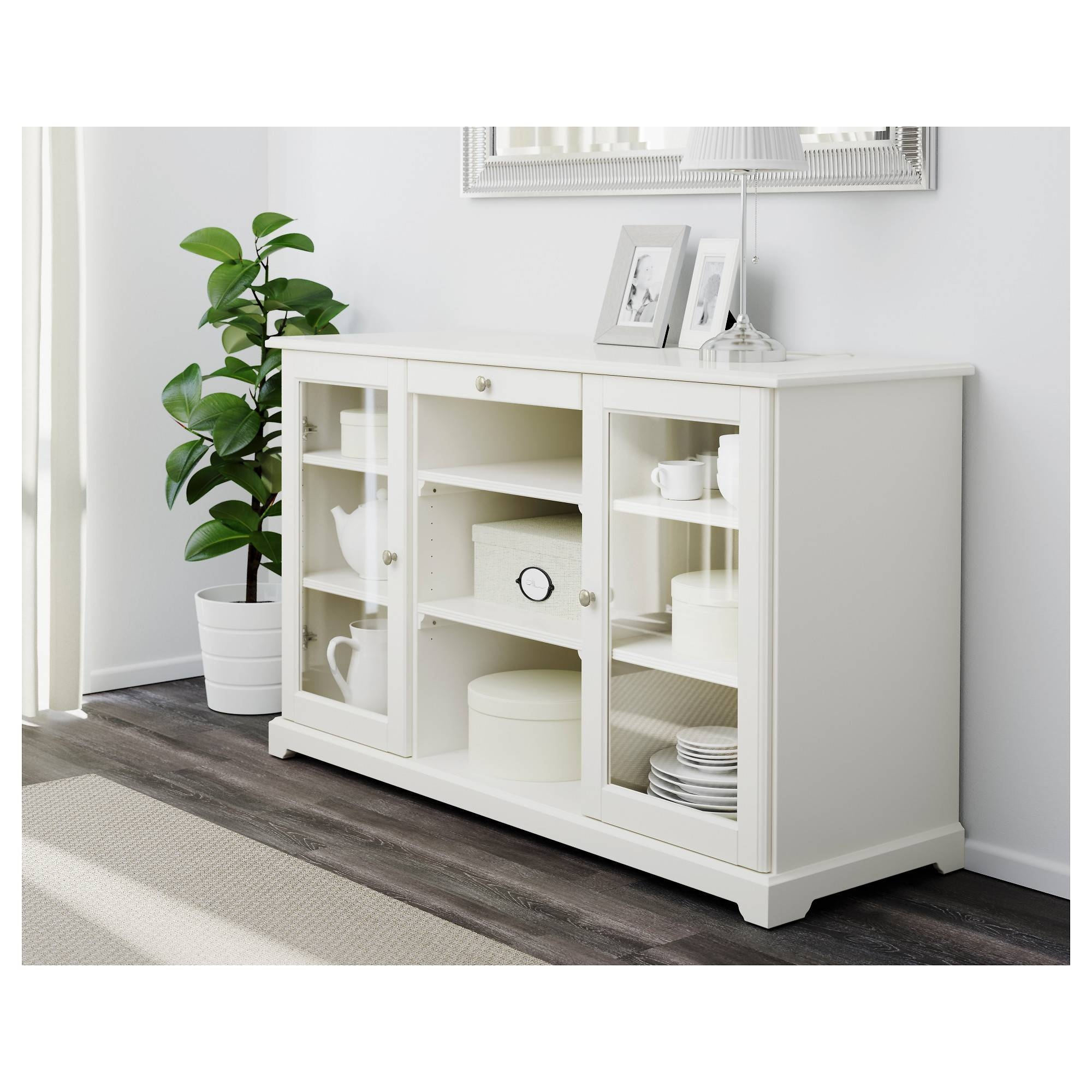 Liatorp Sideboard – White – Ikea In Sideboard White (#10 of 20)