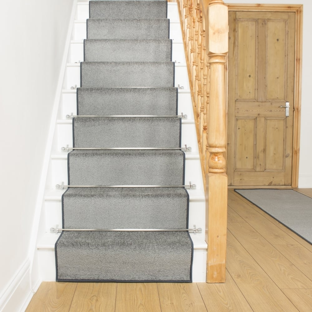 Light Grey Stair Runner Rug Festival For Rug Runners Grey (View 12 of 20)